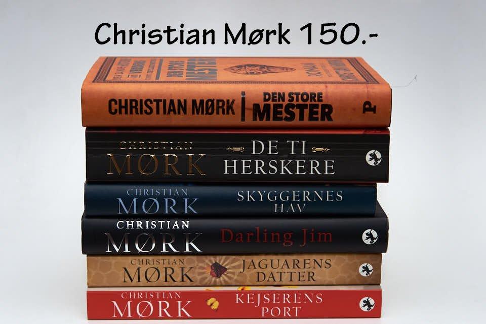 Christian Mørk. 6 stk. 150.-
